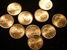 B.U. Red 1999 Broadstruck Lincoln Cent Errors !