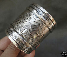 C1880 Aesthetic Movement Gorham Sterling Silver Napkin Ring Bright Cut Engraved