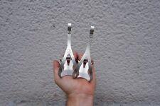 rennrad Pedalhaken Campagnolo Alu Pedal Hook vintage silber NOS size L