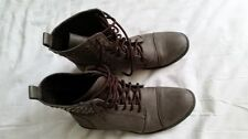 Flat (0 to 1/2 in.) Patent Leather Lace Up Shoes for Women