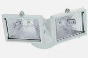 Lithonia Lighting 138H7R Mini Twin-Head 120V Flood Light Brand New