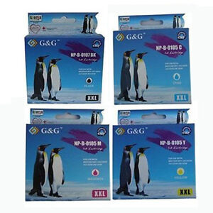 4 LC107 LC105C-Y INK Cartridge For Brother MFC-J4410DW MFC-J4510DW MFC-J4610DW