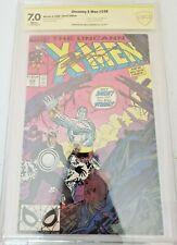 Uncanny X-Men #248 CBCS 7.0 SS Chris Claremont 1989 1st JIM LEE
