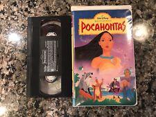 POCAHONTAS VHS! 1995 Drama! The New World Anastasia Teachers Pet Hercules