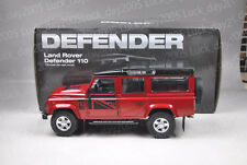 Century Dragon Land Rover Defender 110 Red 1/18 Diecast Model