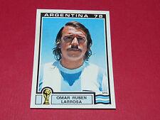 102 LARROSA 1978 ARGENTINA 78 FOOTBALL PANINI WORLD CUP STORY 1990 SONRIC'S