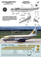 LIVERIES UNLIMITED DECALS 1/144 Boeing 737-200 (Air Namibia)