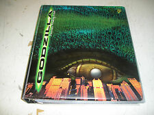 USED 1998 Inkworks Godzilla Trading Card Binder + Full base Set + Pocket Sleaves