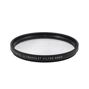 58mm UV Ultraviolet Multi-Coated HD Digital Lens Glass Filter Protector