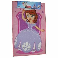 DISNEY SOFIA THE FIRST VAGUE ROSE RECTANGULAIRE CHAMBRE PORTE DE TAPIS 50x80cm
