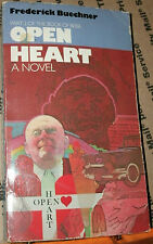OPEN HEART by FREDERICK BUECHNER 1984 PB