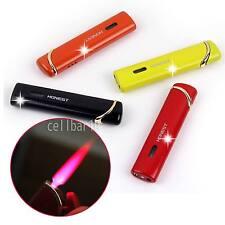 Pretty Windproof Hot Pink Jet Flame Butane Gas Cigarette Cigar Lighter