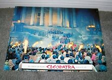 CLEOPATRA 11x14 ELIZABETH TAYLOR original roadshow lobby card 1963 movie poster