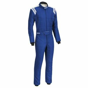 FIA Racing Suit SPARCO CONQUEST R-506 Rally Entry Level Overall Blue STOCK 21