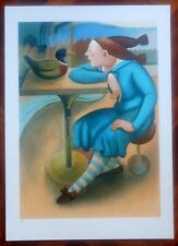 MARTA CZOK serigrafia ''L'ANATRA'' (rif 12a)