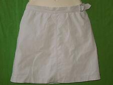 Van Heusen cotton blend stretch size 8  beige knee length skirt built in shorts