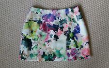Alannah Hill Floral Print Mini Skirt Size 8