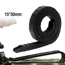 Black Nylon Energy Chain Drag Cable Towline Carrier Wire F/ CNC Router Mill