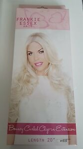 FRANKIE ESSEX HAIR - ONE PIECE BOUNCY CURLED EXTENSION - #BOHEMIAN 18/22
