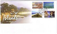 2015 FDC Australia. Islands of Australia. Various FDI postmarks