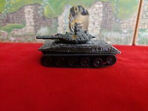 Vintage die cast US M551 SHERIDAN Army Tank MEDIUM BATTLE TANK no. T407