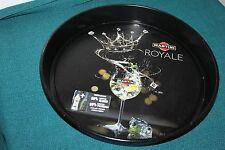 Vassoio da collezione marchio pubblicitario Martini royale anno 2011 arredo pub