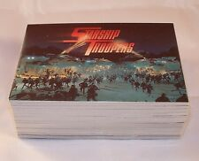 STARSHIP TROOPERS  - Trading Card Complete Set  SCI-FI