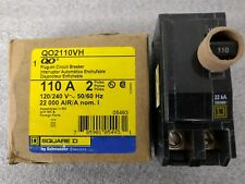 NIB **NEW-Square D QO2110VH 110A Circuit Breaker