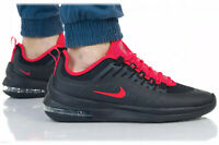 NIKE AIR MAX AXIS Trainers Gym Casual - Black Red Orbit - UK Size 7.5 (EUR 42)