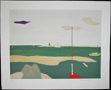 Marion MCCLANAHAN, Original Lithograph, Purple Cloud, Signed Numbered