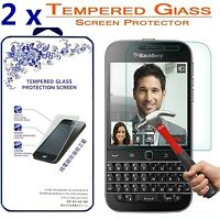 2x For BlackBerry Classic Q20 Premium Tempered Glass Film Screen Protector