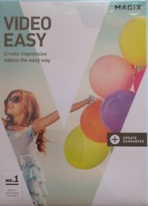 Magix Video Easy - Video Editing Software Windows 7/8/10 64 Bit New/Sealed