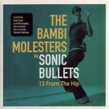 SONIC BULLETS : from hip BAMBI MOLESTERS Croatia instrumental surf spy fun dance