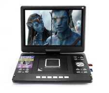 "14"" Rechargeable Portable DVD Player + Analog TV USB/VGA/AV/HDMI/SD Card  12V DC"