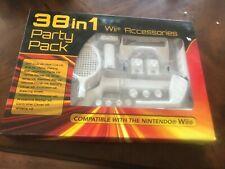Nintendo Wii Sports Pack 38 in 1 Accessories Kit w/Gun, Golf Club & Wheel Nip