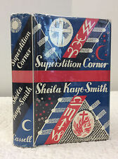 SUPERSTITION CORNER By Sheila Kaye-Smith, Catholic novel, 1st ed. in dj, 1934