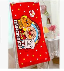 Anpanman red cotton bathing towel hot swimming towels action new