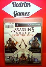 Assassins Creed Ezio Trilogy PS3 Video Games