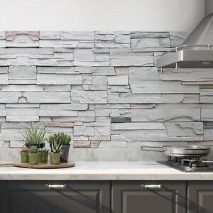 Küchenrückwand selbstklebend Steinwand Fliesenspiegel Folie - ALLE UNTERGRÜNDE