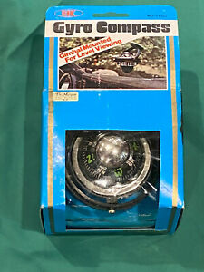 Vintage Gyro Compass No.2600 W/Box for Car or Boat Dash