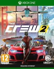 NEW! THE CREW 2 (Microsoft XBOX ONE, 2018) SEALED! FAST FREE SHIPPING!!!