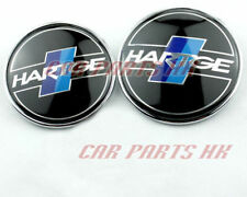 2 Hartge Embleme badge LOGO-  Capot & Coffre - BMW E46 E90 E91 M3 82/73 mm