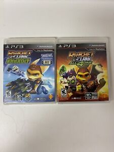 Ratchet And Clank PS3 Lot All 4 One Full Frontal Assault PlayStation 3