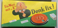 VINTAGE SPEARS GAME DENK FIX! THINK QUICK BOARD GAME 26303 German