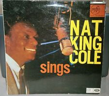 NAT KING COLE - SINGS MFP1049 MUSIC FOR PLEASURE RECORDS VINYL LP ALBUM RECORD