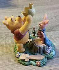 Simply Pooh Winnie & Piglet Resin Figurine