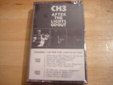 SEALED RARE OOP Channel 3 CASSETTE TAPE After the Lights Go Out PUNK 1983 stones
