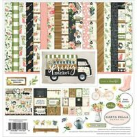 Echo Park Carta Bella 'Spring Market' Scrapbook 12x12 Paper Kit Spring