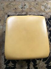 Leather foot stall mustard colour