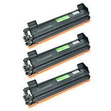 3 Pack TN1000 Toner Cartridge TN-1000 Black For Brother HL-1110 HL-1112 HL-1210W